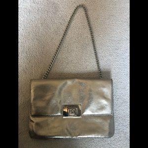Michael Kors metallic chain bag
